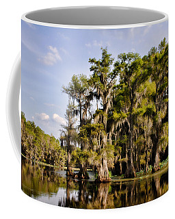 Coffee Mug featuring the photograph Where The Cypress Grows by Lana Trussell