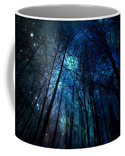 Where The Faeries Meet Coffee Mug by Micki Findlay