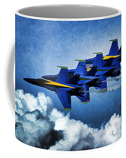 Coffee Mug featuring the photograph Where You Lead by John Freidenberg