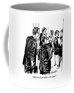 Which One Do You Suppose Is The Alpha? Coffee Mug