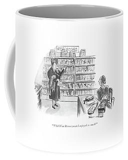 Which Van Doren Was It I Enjoyed So Much? Coffee Mug