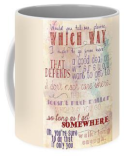 Which Way Coffee Mug
