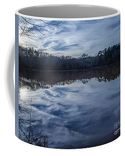 Whipped Cream Reflection Coffee Mug by Donna Brown