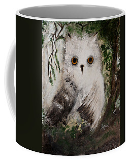 Whisper The Snowy Owl Coffee Mug
