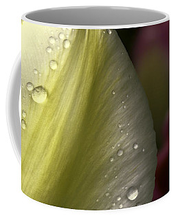 Whispering Tulips Coffee Mug by Jean OKeeffe Macro Abundance Art