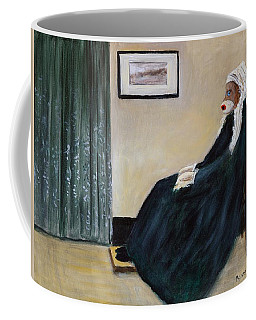 Whistlin Mother Coffee Mug by Randy Burns