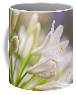 White Agapanthus Coffee Mug