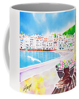White And Blue 2 Coffee Mug
