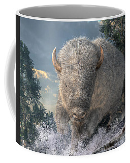 White Bison Coffee Mug