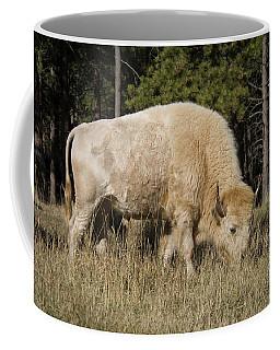 White Bison Symbol Of Hope And Renewal Coffee Mug