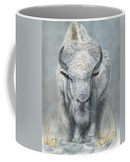 White Buffalo Coffee Mug