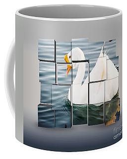 White Chinese Goose 2 Coffee Mug