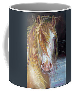 White Chocolate Stallion Coffee Mug