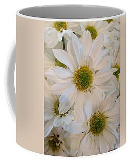 White Daisies Coffee Mug