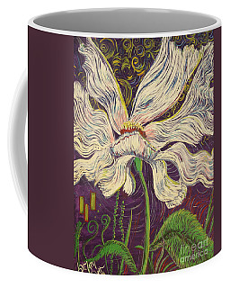 White Flower Series 6 Coffee Mug