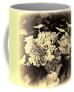 white flower SV Coffee Mug