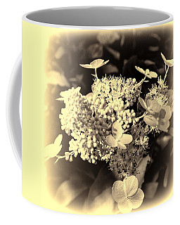 white flower SV Coffee Mug