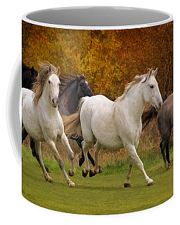 White Horse Vale Lipizzans Coffee Mug