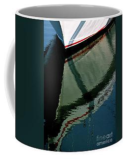 White Hull On The Water Coffee Mug