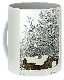 White Lace Coffee Mug