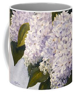 White Lilacs Coffee Mug