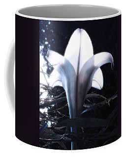 White Lily By Jan Marvin Coffee Mug