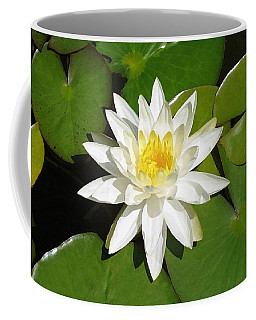 White Lotus 1 Coffee Mug