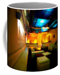White Lounge Coffee Mug by Melinda Ledsome