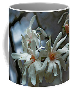 White Magnolia Coffee Mug