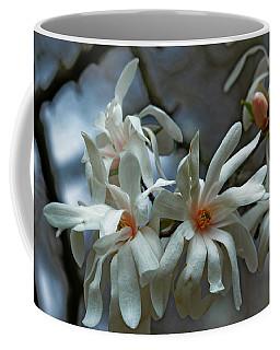 Coffee Mug featuring the photograph White Magnolia by Rowana Ray