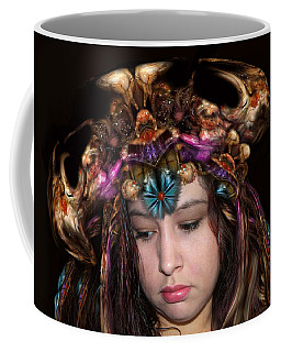 White Meat And Bones Tiara Coffee Mug
