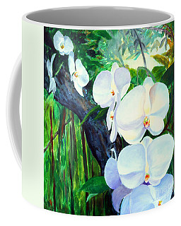 White Orchid's Coffee Mug
