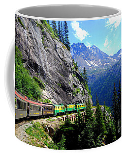 White Pass And Yukon Route Railway In Canada Coffee Mug by Catherine Sherman