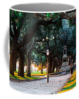 White Point Garden Walkway Charleston Sc Coffee Mug