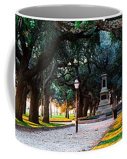 White Point Garden Walkway Charleston Sc Coffee Mug