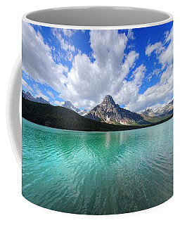 Coffee Mug featuring the photograph White Pyramid by David Andersen