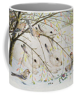 White Rabbits Coffee Mug