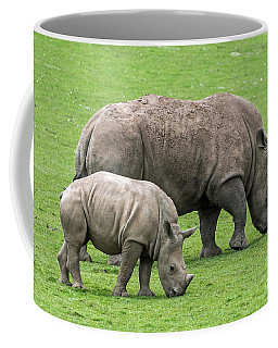 White Rhino 8 Coffee Mug