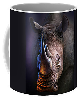 White Rhino Coffee Mug