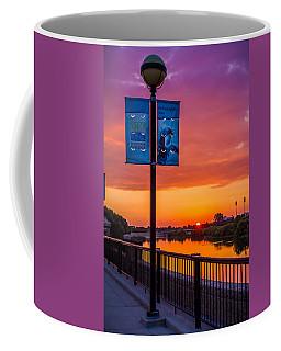 White River Sunset Coffee Mug