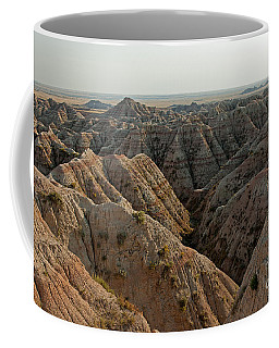 White River Valley Overlook Badlands National Park Coffee Mug