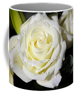 White Rose Coffee Mug