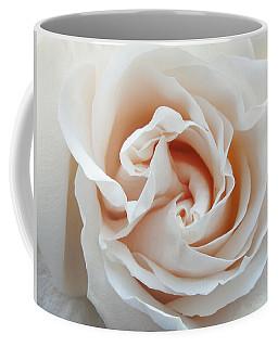 White Rose Coffee Mug by Tiffany Erdman