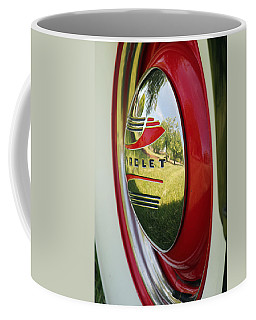 White Sidewalls On Chevy Coffee Mug