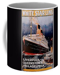 White Star Line Poster 1 Coffee Mug