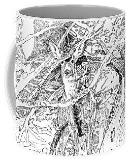 White-tail Encounter Coffee Mug