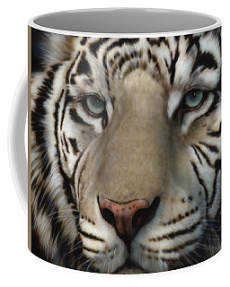 White Tiger - Up Close And Personal Coffee Mug