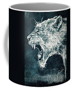 Leon Portrait Coffee Mug