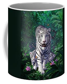 White Tigers Coffee Mug