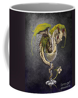 White Wine Dragon Coffee Mug